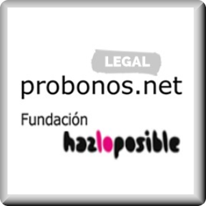 Imagen dela asesoría jurídica Probonos.net, Fundación Hazloposible para socios de la Asociación.